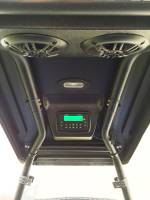 "Extreme Metal Products, LLC - Polaris ACE Overhead Stereo Pod for the ""Cooter Brown"" ACE Top"