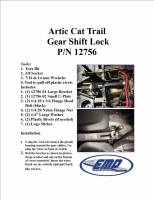 Extreme Metal Products, LLC - Wildcat Trail and Sport Anti-Theft Shift Lock - Image 5