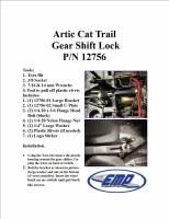 Wildcat Trail Anti-Theft Shift Lock