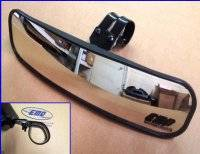 "13"" Wide Panoramic Rear view Mirror for 1-3/4""-1-7/8"" Round Cages"