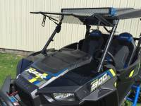 Extreme Metal Products, LLC - Flip Up windshield for RZR XP1K and 2015 RZR 900