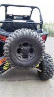 Polaris - RZR® 900-4 - Extreme Metal Products, LLC - RZR 900 Rear Spare Tire Rack
