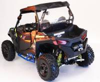 2015-17 RZR 900 Rear Bumper with Winch Mount