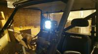 Extreme Metal Products, LLC - Light Bracket for Polaris Ranger PRO-FIT style cage - Image 2