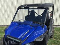Yamaha - Wolverine - Extreme Metal Products, LLC - Wolverine Full Windshield (Hard Coated both sides)