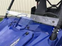 Extreme Metal Products, LLC - Wolverine Half Shield/Wind Deflector (Hard Coated both sides)