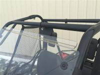 Extreme Metal Products, LLC - Pioneer 500 Hard Coat Windshield with Fast Straps - Image 2