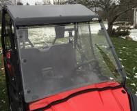 Extreme Metal Products, LLC - Pioneer 500 Hard Coat Windshield with Fast Straps - Image 4