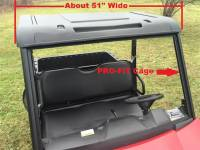 "Mid-Size Ranger Polyethylene Top (Fits: PRO-FIT Cage, 50"" wide)"