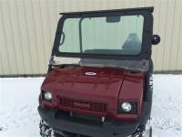 Extreme Metal Products, LLC - Kawasaki MULE 4010 Laminated Glass Windshield