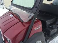 Extreme Metal Products, LLC - Kawasaki MULE 4010 Laminated Glass Windshield - Image 6