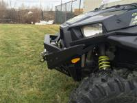 Extreme Metal Products, LLC - RZR NITRO Front  Bumper / Brush Guard with Winch Mount (XP1K, 2015-19 RZR 900 and 2016-18 RZR 1000-S) - Image 2