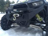 Extreme Metal Products, LLC - RZR NITRO Front  Bumper / Brush Guard with Winch Mount (XP1K, 2015-19 RZR 900 and 2016-18 RZR 1000-S) - Image 7