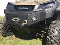 Extreme Metal Products, LLC - Pioneer 1000 Front Bumper/Brushguard with Winch Mount