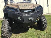 Extreme Metal Products, LLC - Pioneer 1000 Front Bumper/Brushguard with Winch Mount - Image 4