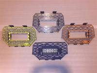 Polaris RZR Grill with LED Light Bar