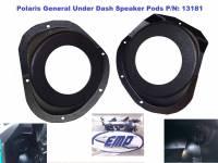 Polaris General Under-Dash Speaker Pods (Speakers Not Included)