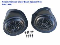 Polaris - GENERAL™ 1000 EPS - Extreme Metal Products, LLC - Polaris General Under-Dash Speaker Pods (Speakers Included)
