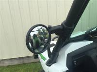 "Smack Back Buggy Mirror-Round 5-1/2"" Diameter Convex"