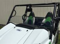 Kawasaki - Teryx4™ - Extreme Metal Products, LLC -  2016-17 Teryx 800 Hard Coated Half Windshield/Deflector