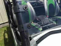 Extreme Metal Products, LLC - 2016-20 Teryx 800 Hard Coated Half Windshield/Deflector - Image 2