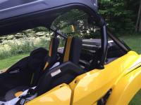 Extreme Metal Products, LLC - Yamaha YXZ Rear Panel/Dust Stopper - Image 3