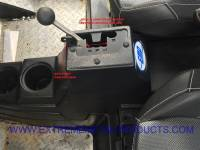 "Polaris - RZR® S 1000 - Extreme Metal Products, LLC - RZR ""Gated Speed Shifter"""