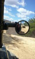 """(Pair) of Smack Back Buggy Mirrors-Round 5-1/2"""" Diameter Convex (Two Per Set)"""