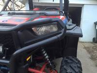 Polaris - RZR® 900 - Extreme Metal Products, LLC - Front Fender Flares for RZR 900-S, RZR 1000-S, RZR XP1K