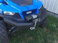 Polaris General Front Brush Guard with Winch Mount
