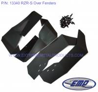 UTV Parts & Accessories - Extreme Metal Products, LLC - Polaris RZR-S Wide Fenders/Fender Flares