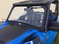 Polaris - GENERAL™ 1000 EPS - Extreme Metal Products, LLC - Polaris General Laminated Glass Windshield (DOT)
