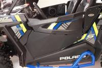 Polaris - RZR® XP1000 (XP1K) - Extreme Metal Products, LLC - RZR XP1K, RZR 1000-S, and RZR 900 Lower Door Panels (Aluminum)(No Pockets)