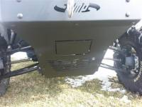 Extreme Metal Products, LLC - Pioneer 700 Front Bumper / Brush Guard with Winch Mount - Image 7