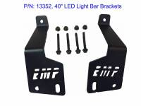 Can-AM Maverick X3 LED Light Bar Bracket Set