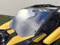 Can-Am - Maverick X3 - Extreme Metal Products, LLC - Can-Am Maverick X3 Hard Coated Windshield w/Fast Straps