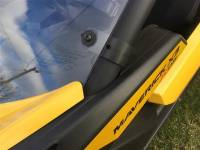 Extreme Metal Products, LLC - Can-Am Maverick X3 Hard Coated Windshield w/Fast Straps - Image 3