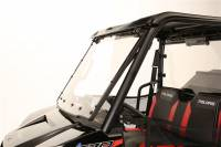 Extreme Metal Products, LLC - Mid-Size/2 Seat Polaris Ranger Flip-up Windshield - Image 2
