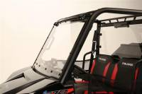 Extreme Metal Products, LLC - Mid-Size/2 Seat Polaris Ranger Flip-up Windshield - Image 3