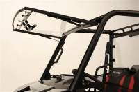 Polaris - RANGER®  - Mid Size - Extreme Metal Products, LLC - Mid-Size/2 Seat Polaris Ranger Flip-up Windshield