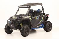 Extreme Metal Products, LLC - Flip Up windshield for RZR 2014-2018 XP1K, 2015-21 RZR 900, and 2016-18 RZR 1000-S - Image 4