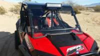 RZR Custom Cage Windshield Kit