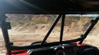 Extreme Metal Products, LLC - RZR Custom Cage Windshield Kit - Image 3