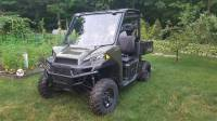 Extreme Metal Products, LLC - Full Size Polaris Ranger Flip-Up Windshield - Image 2