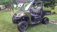 Extreme Metal Products, LLC - Full Size Polaris Ranger Flip-Up Windshield - Image 3
