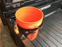 Polaris - RANGER®  - Full Size - Extreme Metal Products, LLC - Polaris Ranger/General Bucket Caddy