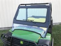 Extreme Metal Products, LLC - John Deere Gator 625i and 825i Laminated Glass Windshield - Image 1