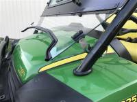 Extreme Metal Products, LLC - John Deere Gator 625i and 825i Laminated Glass Windshield - Image 2