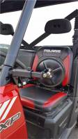 Extreme Metal Products, LLC - Polaris Ranger Smack Back Mirrors for PRO-FIT Cages  Set (pick your mirror size) - Image 2