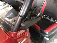 Extreme Metal Products, LLC - Polaris Ranger Smack Back Mirrors for PRO-FIT Cages  Set (pick your mirror size) - Image 7